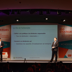 Gaëtan Obert and Michael Herskovich represent BNP Paribas Investment Partners for the Wake Up Calls session